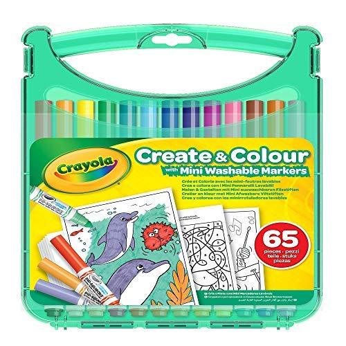 Crayola Washable Markers Create & Colour Case - £5.89 (+ £4.49 Non Prime) Delivered @ Amazon