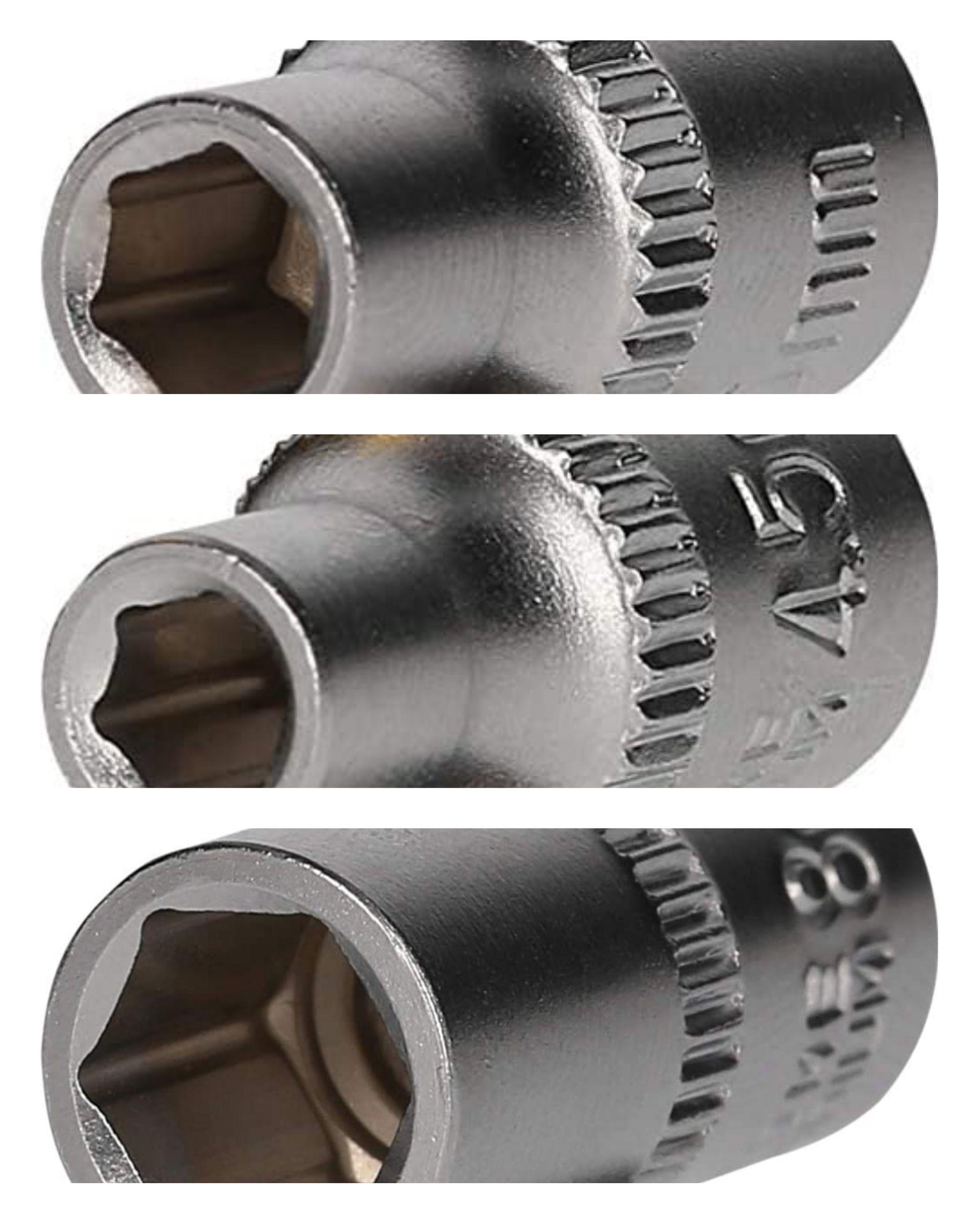 Brilliant Tools 1/4 Inch Socket Spanner, 25 mm, 4.5mm/5.5 mm/8mm Insert 84p (£4.49 p&p non prime) @ Amazon EU (UK Mainland)