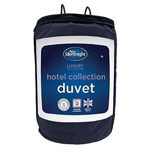 Silentnight Hotel Collection Duvet, 13.5 Tog - Single £14.99 / Double £16.99 / Super King £22.99 (Prime) + £4.49 (non Prime) at Amazon