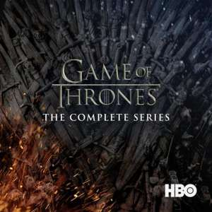 Game of Thrones, The Complete Series HD - Season 1 to 7 + extras £69.99 at iTunes