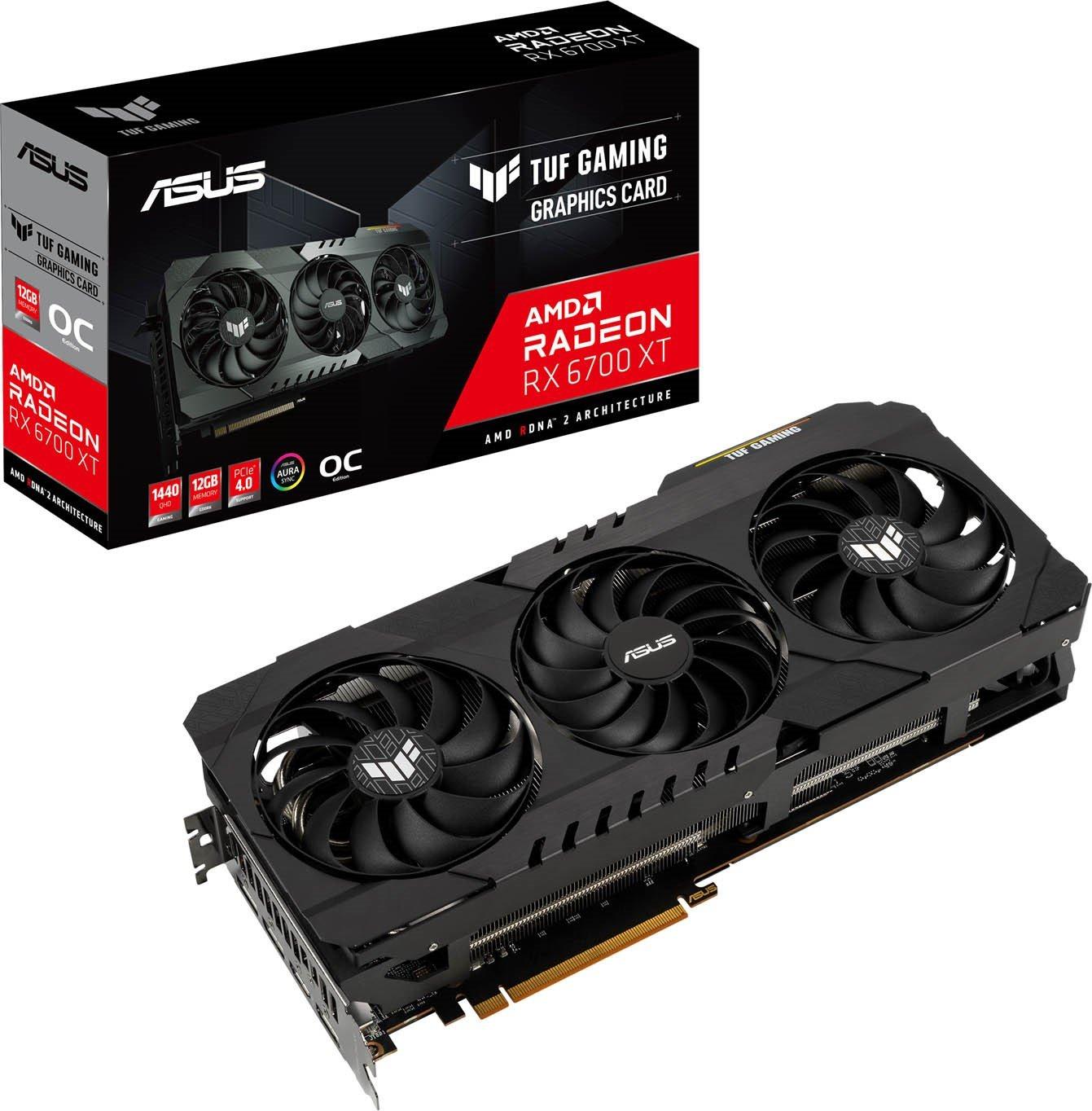 ASUS Radeon RX 6700 XT TUF 12GB OC GPU £849.99 at CCLOnline