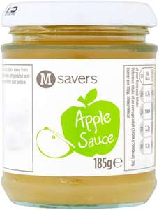 Morrisons Savers Apple Sauce Vegan 185g Jar 10p instore at Morrisons Bradford