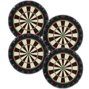 Four Dartboards (probably Winmau Blade 5) - near perfect condition - £86.80 incl p&p @ Red Dragon Darts