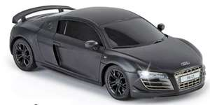 Audi R8 1:24 Radio Controlled Sports Car - Matte Black £10 (or 2 for £15) + Free Click and Collect / £3.95 Delivered @ Argos