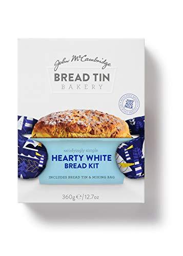 McCambridge Bread Tin Bakery Hearty White Soda Bread Kit, Pack of 6 £5.58 Prime (+£4.49 Non Prime) at Amazon