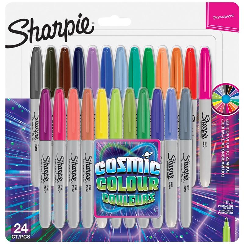 Sharpie Cosmic Colour Fine Point Permanent Markers 24pk £9.99 @ B&M Swinton