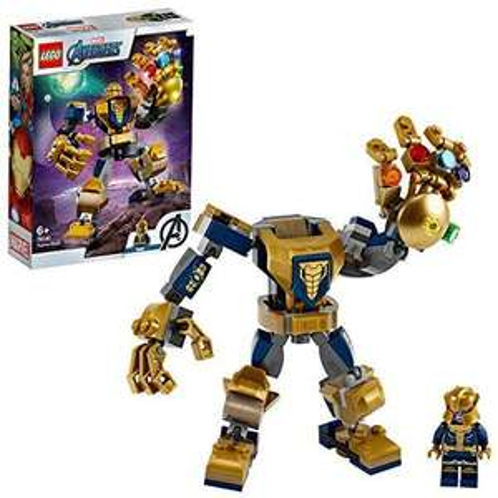 LEGO Super Heroes 76141 Marvel Avengers Thanos Mech Toy, Battle Action Figure - £6.93 +£4.49 NP (UK Mainland) Sold by Amazon EU @ Amazon