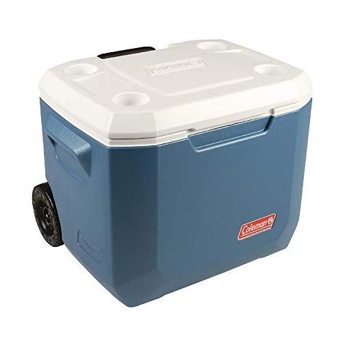Coleman 50Qt Xtreme Wheeled Cooler Hard Shell Passive Cooler - Blue/White - £72.70 (UK Mainland) Sold by Amazon EU @ Amazon