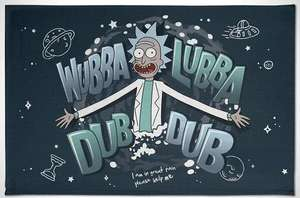 Rick and Morty: Wubba Lubba Dub Dub Tea Towel - £2.99 (+£1 Delivery) at Forbidden Planet