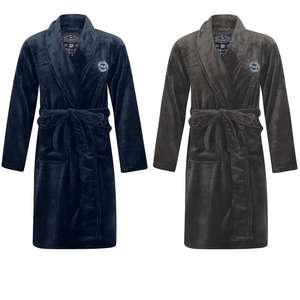 Men's Soft Fleece Dressing Gown - 3 colours - now £14.99 delivered with code @ Tokyo Laundry
