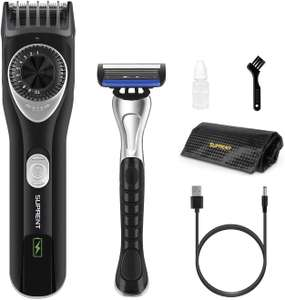 Beard Trimmer £19.59 using voucher - Sold by Yaoshu and Fulfilled by Amazon