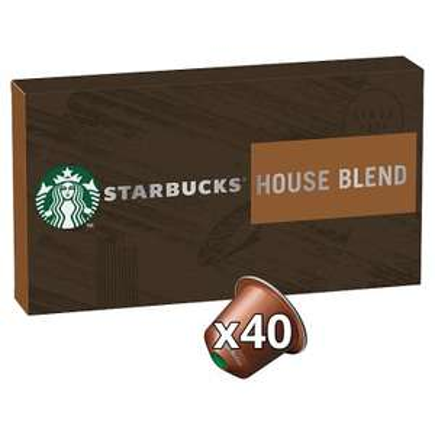 40 Starbucks Coffee Nespresso Pods - £9 @ Waitrose & Partners