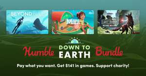 Humble Down to Earth Bundle (Steam PC : Figment/ Yono and the Celestial Elephants/ Abzu/ Arida and more) 72p Onwards @ Humble Bundle