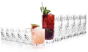 RCR Oasis Italian Crystalware 6 Hi-Ball Cocktail Tumblers + 6 Whisky Tumblers £16.97 / £14.98 with new user code @ Groupon