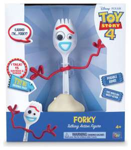 Disney Toy Story 4 8inch Forky - £5 + free Click and Collect @ Argos