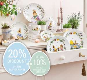 Villeroy and Boch Easter Sale - Extra 10% off with code for members