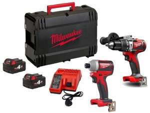 Milwaukee M18BLPP2A2-202X Power Tool Kit 2-18v-2Ah REDLITHIUM Batteries 2pce - £245.56 delivered @ Power Tools UK