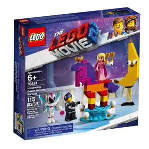 The LEGO Movie 2 70824 Introducing Queen Watevra Wa'Nabi only £4.99 in Home Bargains Ashton