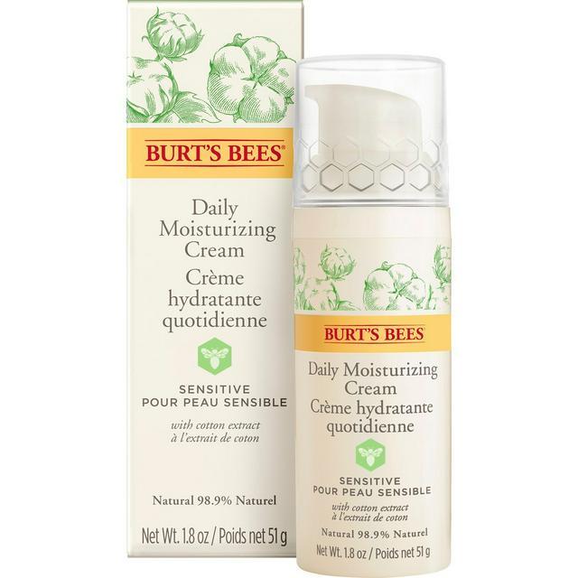Burt's Bees Daily Face Moisturiser Cream for Sensitive Skin 51g - £8 @ Sainsbury's