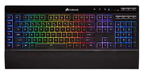 Corsair K57 RGB Wireless Gaming Keyboard (Dynamic Backlit RGB LED, Full Size+6 Macro Key, Up to 175 Hrs Battery) - £55.49 delivered @ Amazon