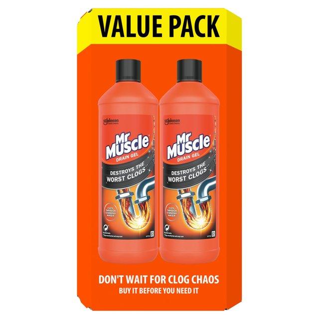 Mr Muscle Drain Unblocker - 2 X 1L Pack £5.99 @ Savers (Peterborough)
