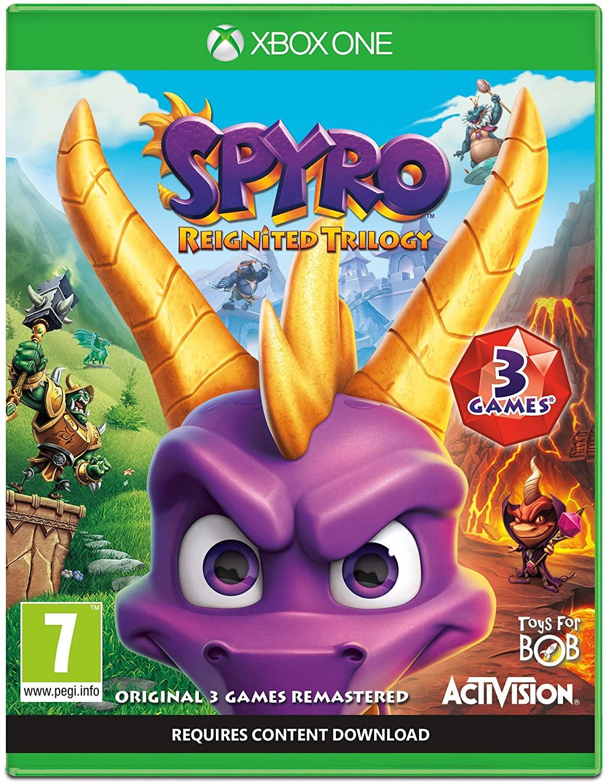 Spyro Reignited Trilogy (Xbox One) Used - £11.99 @ musicmagpie / ebay