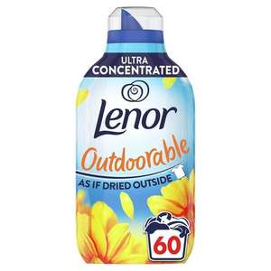 Lenor Outdoorable Fabric Conditioner Summer Breeze 60 Washes - £2.50 @ Asda