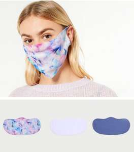 BOGOF Face Coverings + An extra 5% off (with code) e.g 3pk Multicoloured coverings for £5.99 @ New Look