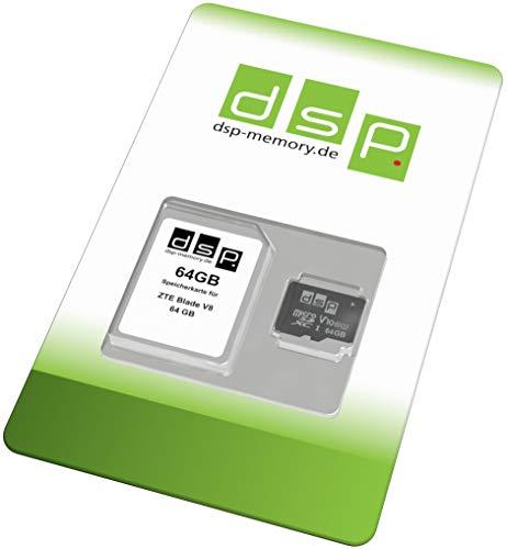 DSP Memory 64GB Speicherkarte (Class 10) für ZTE Blade V8 64 GB - £5.48 (+£4.49 Non-Prime) @ Amazon