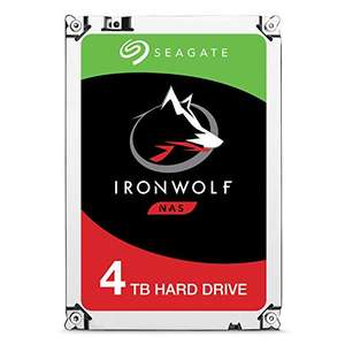 "Seagate IronWolf 4TB NAS 3.5"" SATA III 6GB's Hard Drive - £89.95 (UK Mainland) Sold by Amazon EU @ Amazon"