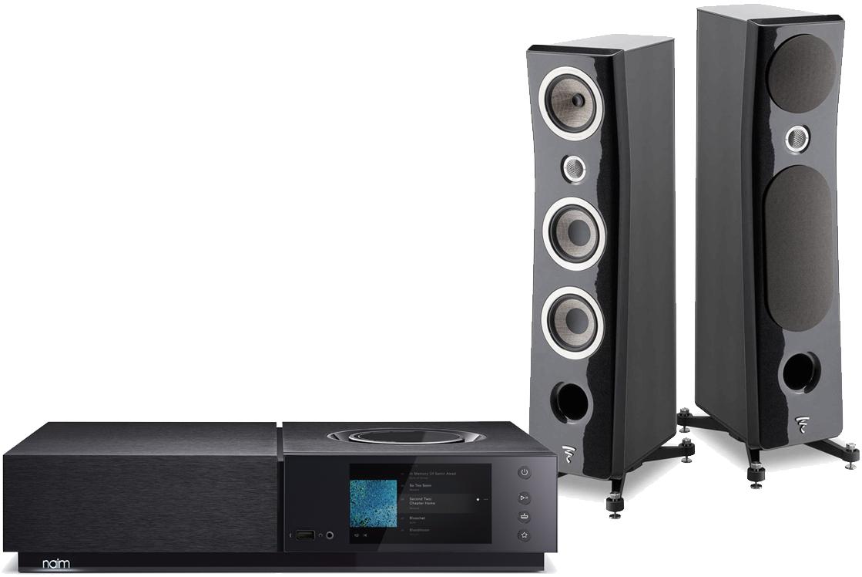 Naim Uniti Nova with Focal Kanta No2 and cables Package Deal - £9,999 @ Audio Affair
