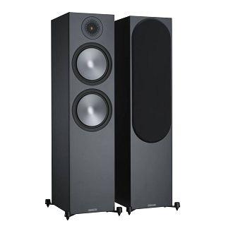 Monitor Audio Bronze 500 Black Floorstanding Speakers (Pair) - Warehouse Deal - £539 @ AudioVisual Online