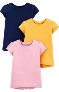 Girls pack of 3 t shirts age 2 now £6.42 (+£4.49 Non-Prime) at Amazon