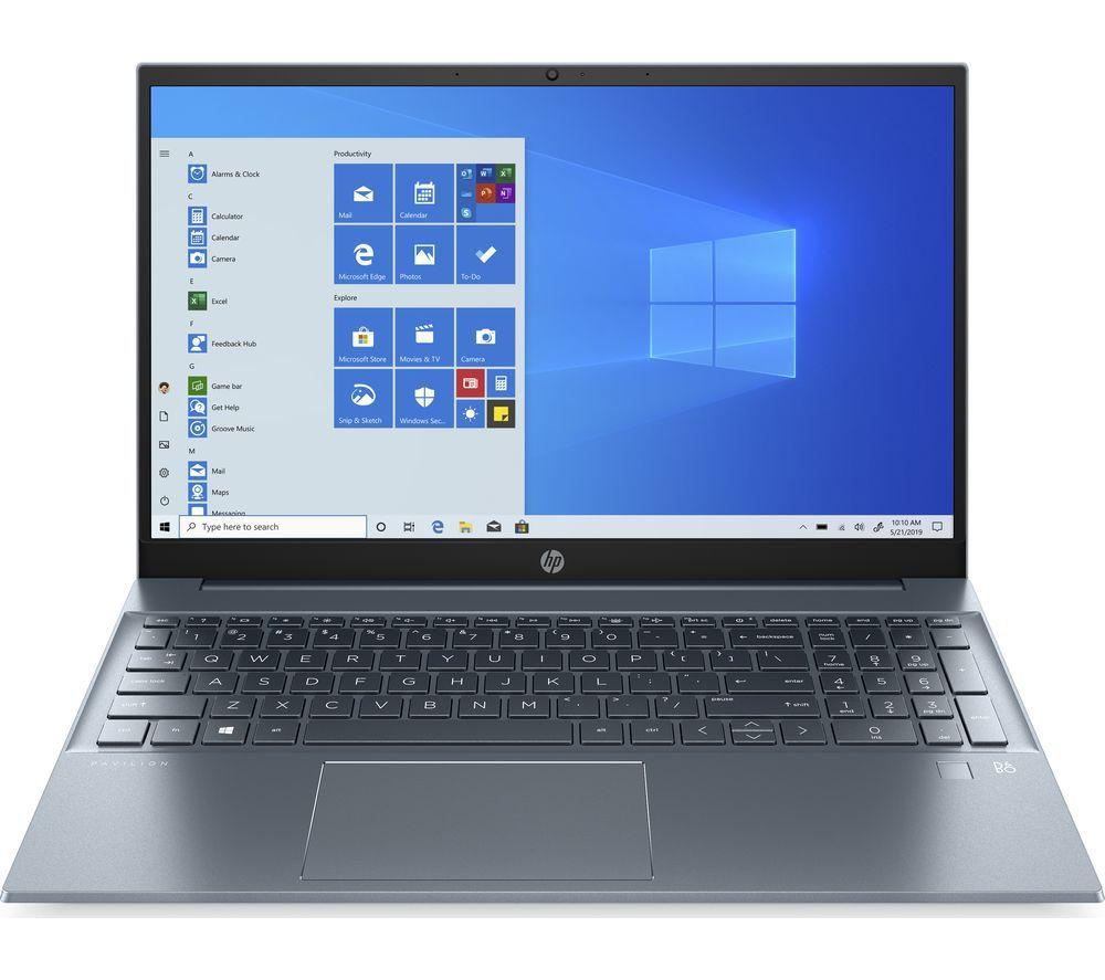 "HPPavilion 15-eh0523sa 15.6"" Laptop - AMD Ryzen 5, 512 GB, Blue £579 @ Currys PC World"