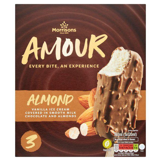 Morrisons Ice Cream Cones 4x110ml, Sticks 3x120ml, Chokas 3x120ml - 2 for £1.50 mix & match @ Morrisons