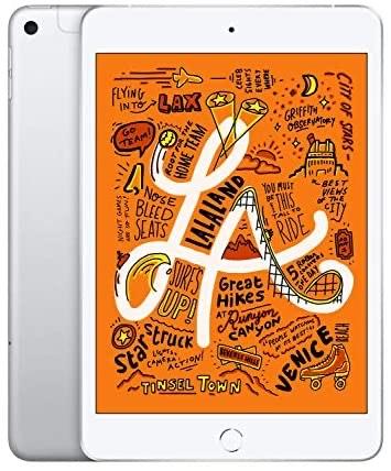 Apple iPad mini (7.9-inch, Wi-Fi + Cellular, 256GB) - Silver - £463.18 @ Amazon