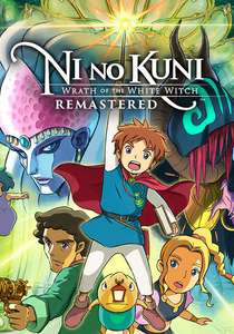 Ni no Kuni: Wrath of the White Witch Remastered PC Steam £8.80 at Games Planet