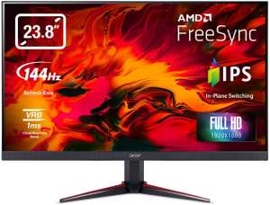 "Acer Nitro 23.8"" Full HD IPS FreeSync 144Hz Gaming Monitor, £152.10 at AO (with code)"