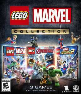 LEGO Marvel Collection inc. all DLC & Season Passes [Xbox One / Series X/S - via VPN] £5.88 @ Xbox Store Brazil