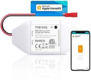 Meross Smart Garage Door Opener Remote Control Add-On to Existing Garage Opener £36.54 Sold by Meross Home EU and Fulfilled by Amazon