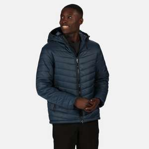 Men's Volter Loft Insulated Quilted Hooded Heated Walking Jacket Nightfall Navy £33.91 delivered using code @ Regatta
