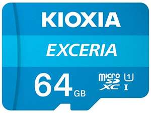 Kioxia Exceria U1 Class 10 microSD Card 100MB/s 64GB - £5.88 / 32GB - £3.58 (£12.89 for 4 of 32GB) Prime /+£4.49 Non Prime @ Amazon