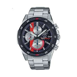 Casio Edifice Torro Rosso Sapphire Chronograph Blue Bracelet Watch, £109 with code at H.Samuel