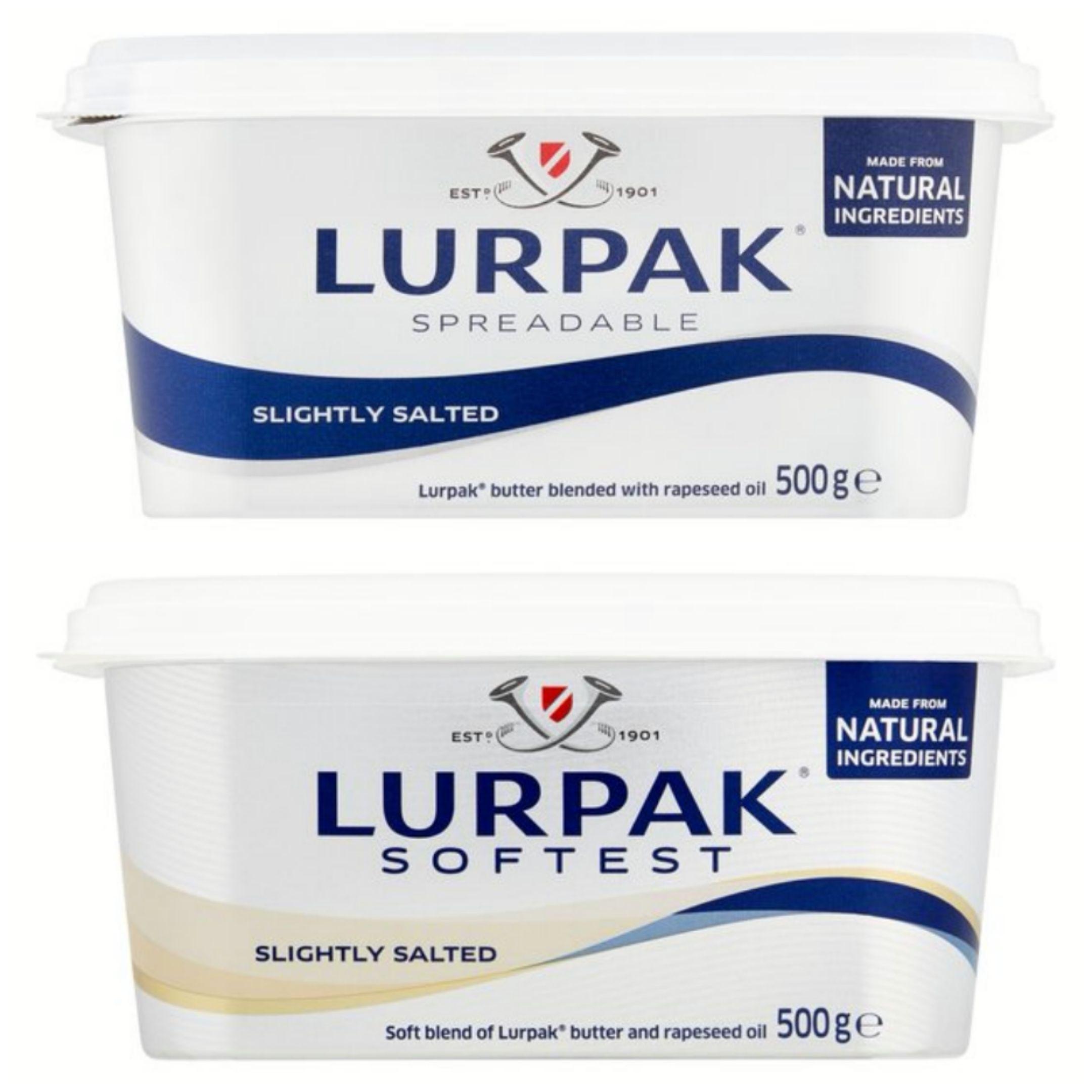 Lurpak Slightly Salted Spreadable / Spreadable Softest 500g £2.75 @ Morrisons