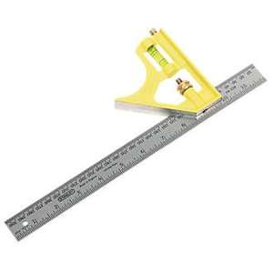 Stanley Combination Square £14.99 @ Screwfix Free click and collect