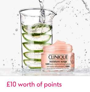 Buy 2 Clinique items from £10 each and get £10 in points @ Boots - free click & collect / £3.50 delivery
