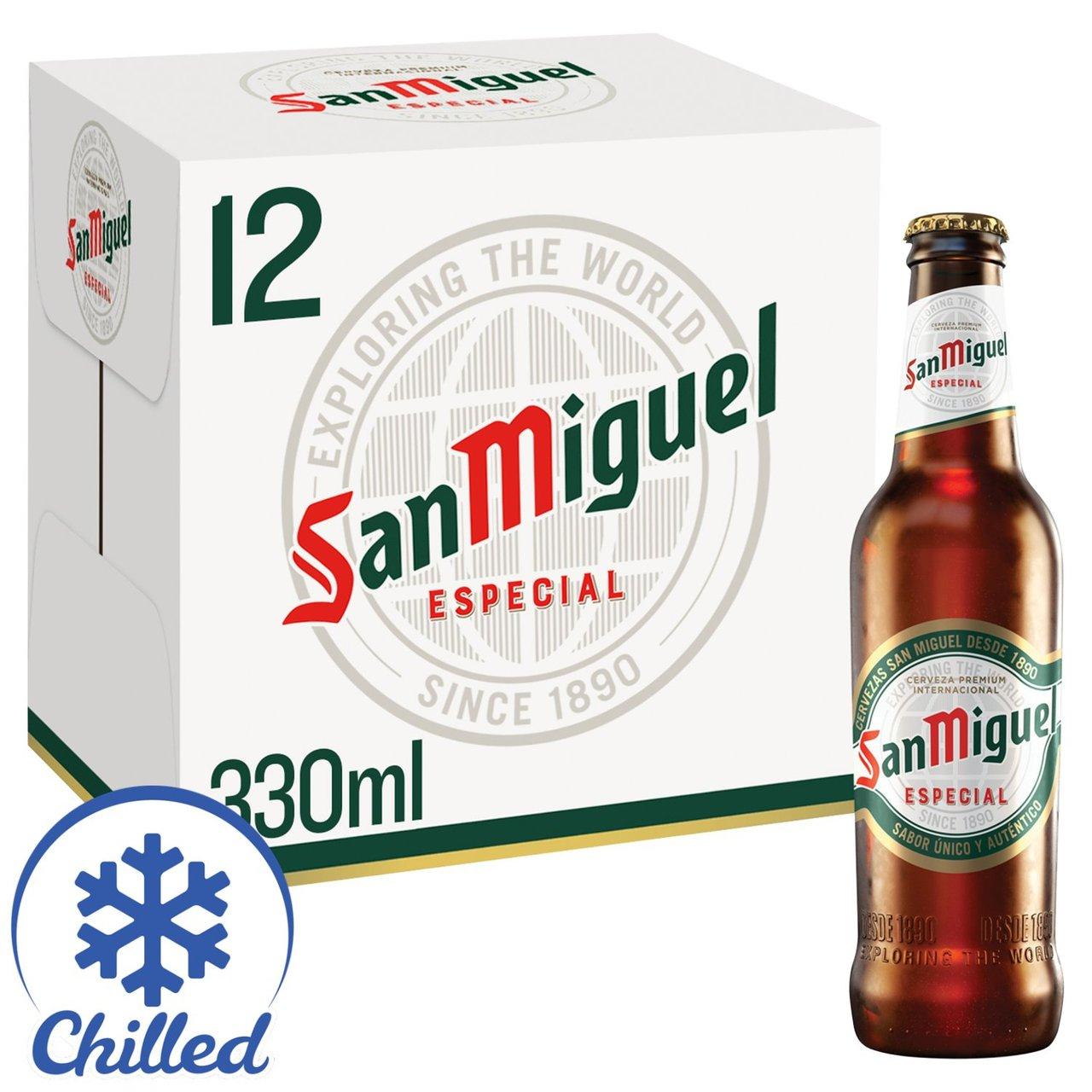 San Miguel Premium Lager Beer 12 x 330ml £6.99 @ Morrisons