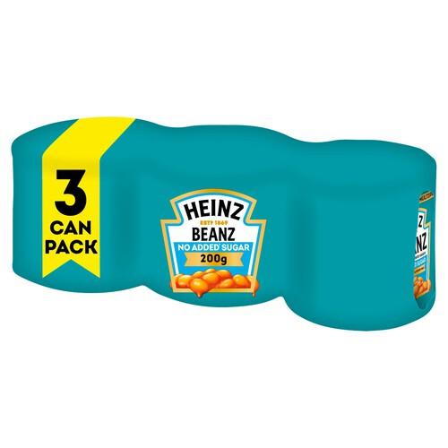Heinz Beanz 3 x 200g £1 @ Morrisons