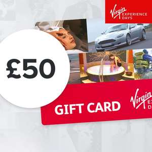 Virgin Experience Days £50 Gift Card - £39.99 @ Costco