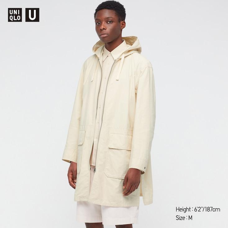 Uniqlo U Hooded Coat for £39.90 + £3.95 delivery fee at Uniqlo